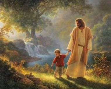 "Jesus said, ""Let the little children come to me."" Check out these awesome depictions of Christ spending time with the children."