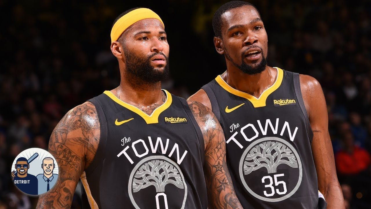 Demarcus Cousins Will Re Sign With The Warriors If Kevin Durant Leaves Kevin Durant Kevin Warrior