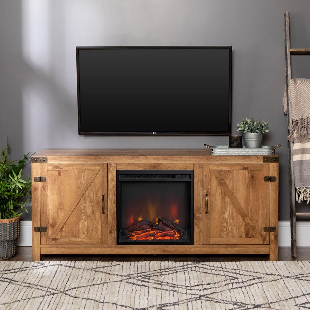 33+ Farmhouse tv stand with fireplace model