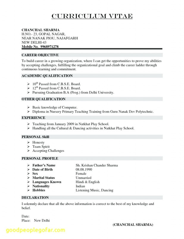 Free Blank Resume Templates For Microsoft Word New Resume Peace Corps Resume Sample In 2020 Cv Format For Job Resume Template Word Basic Resume Examples