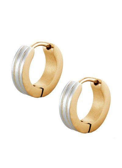Silver Gold Prem Ratan Dhan Payo Salman Khan Inspired Fashion Hoop Earring Male Earrings Studs Mens Black Online