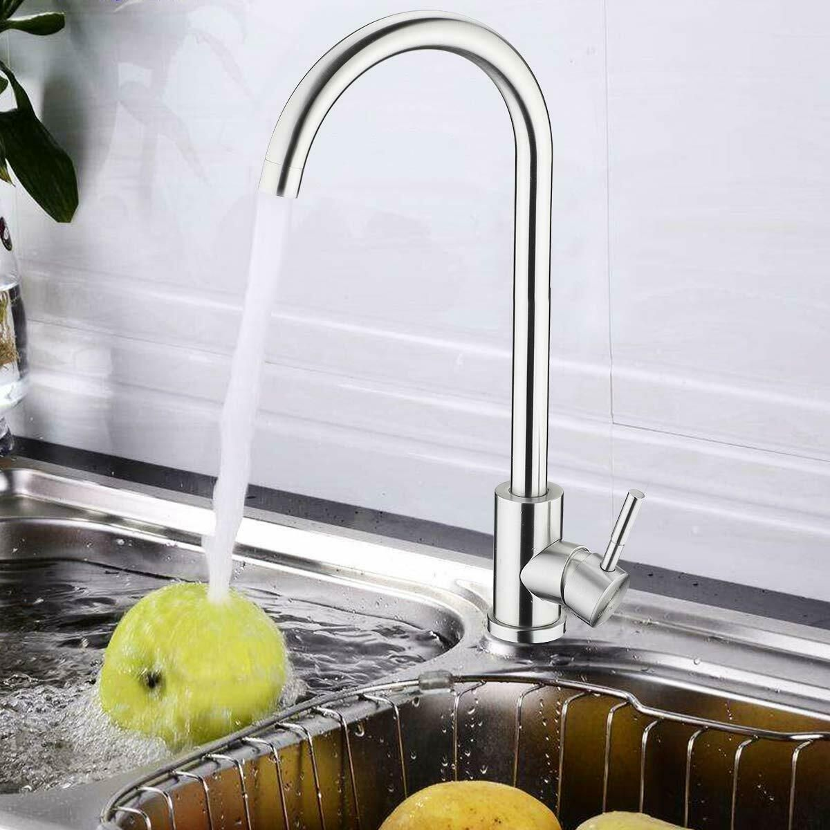 Kitchen Sink Faucet Single Handle Sprayer Brass Cold Hot Water Mixer Tap W5j7 Kitchen Faucets Ideas Of Kitchen Sink Faucets Sink Faucets Kitchen Faucet