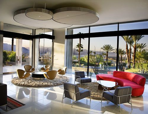 Renovation to a very swanky Palm Springs mid century residence. Interiors by designer Christopher Kennedy; architecture by architect Anders Lasater,