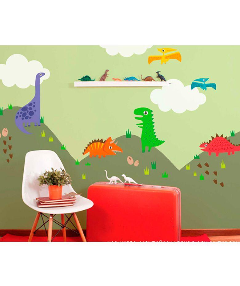 Dinosaurios vinilo adhesivo decoraci n de paredes cop encuentra m s vinilos - Decoracion paredes vinilos adhesivos ...