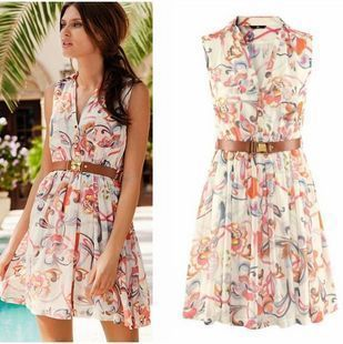 Free Shipping M/L/XL Size Brand Dresses New Fashion 2013 Summer ...