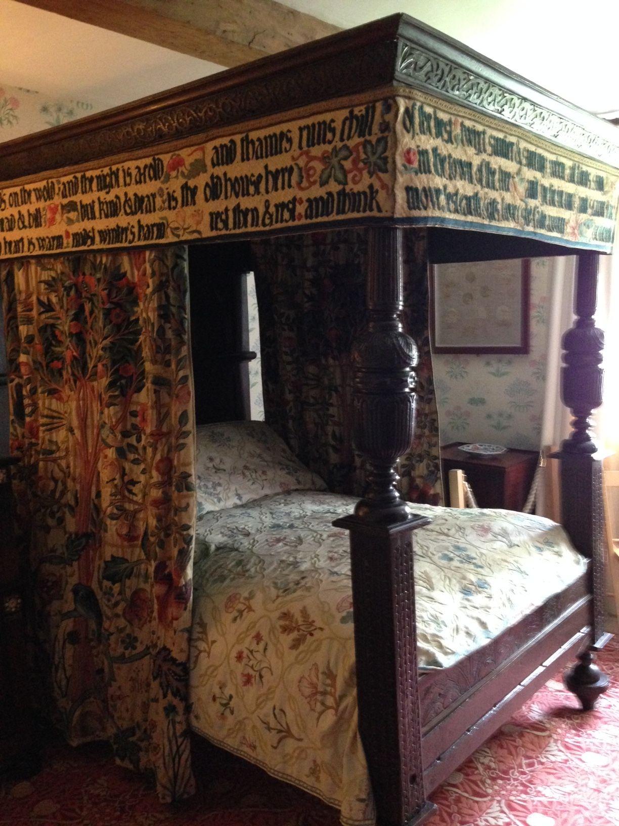 A look inside the arts craftsstyle kelmscott manor