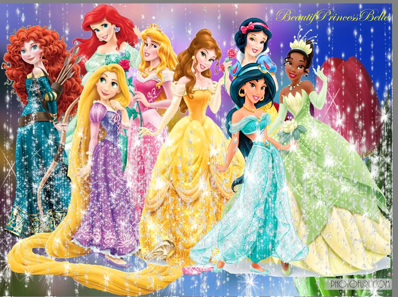 Все имена и картинки принцесс диснея