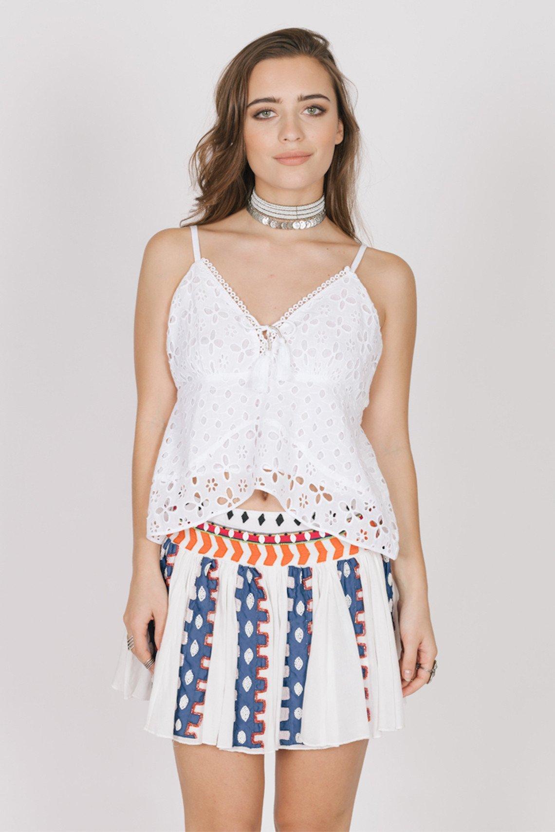 8f9fbab39 High Waisted Flowy Short Skirt