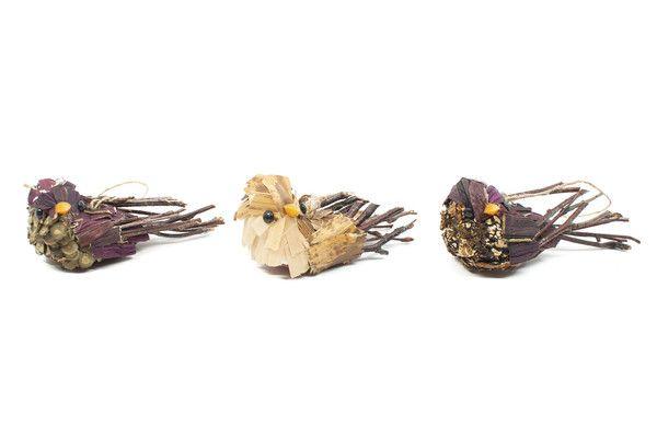 Bird Ornament Set | Moorea Seal.