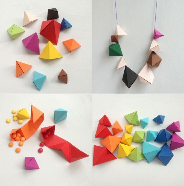 Délicieux Comment Faire Des Origami Facile En Papier #15: Comment Faire Des Pyramides Origami Facile, Que Faire Avec Des Pyramides En  Papier