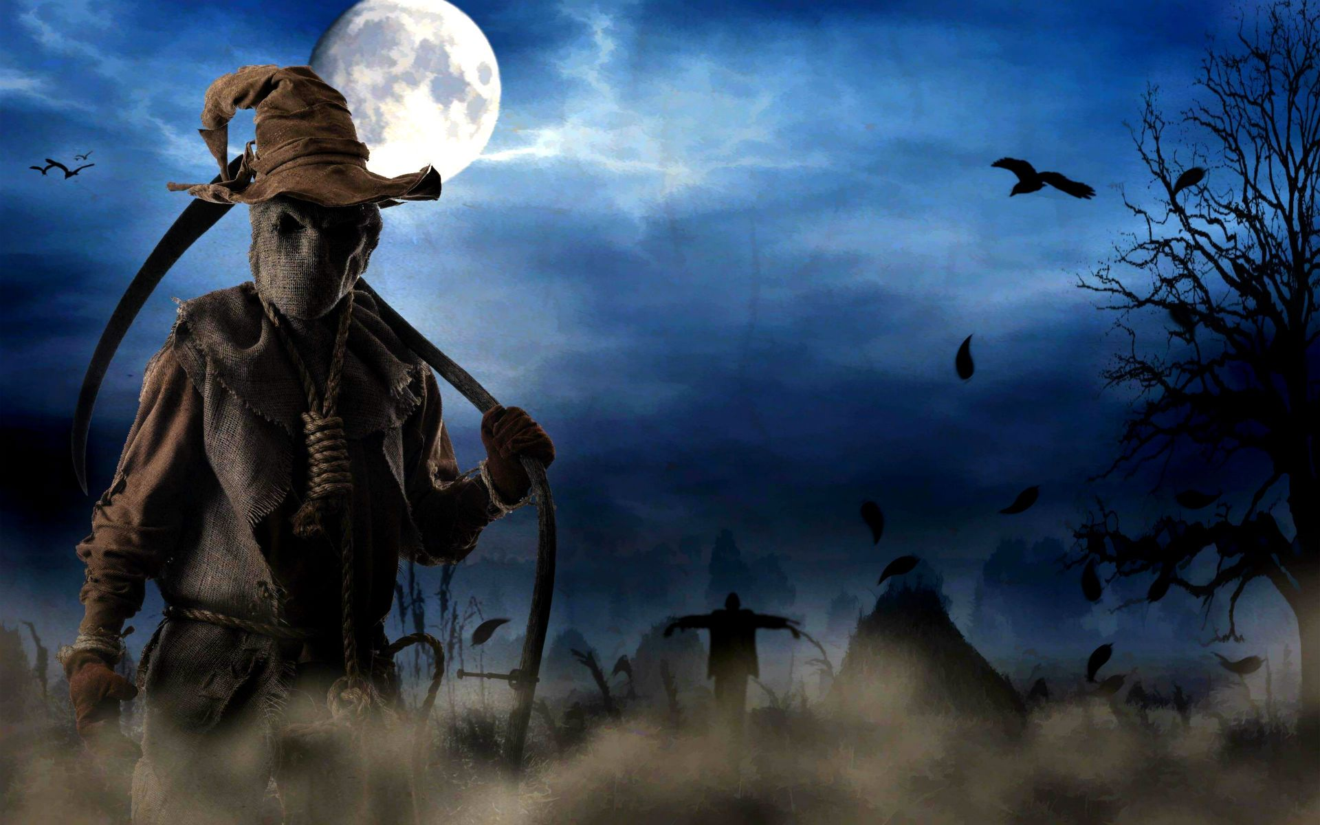 eerie halloween Scary Halloween Wallpaper . Download