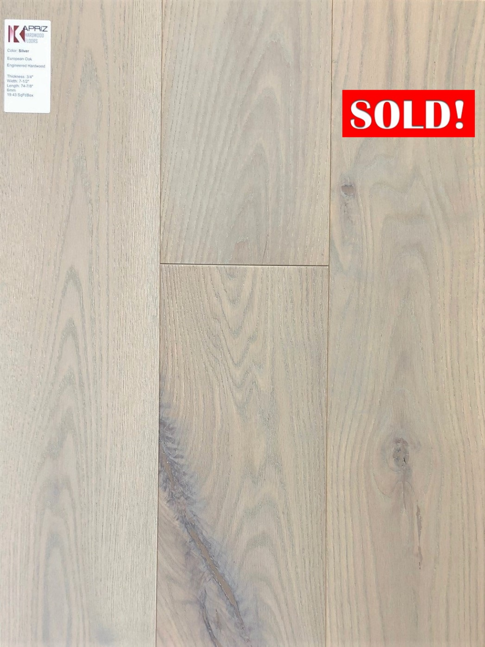 6mm Engineered Flooring Silver In 2020 Flooring Engineered Flooring Flooring Store