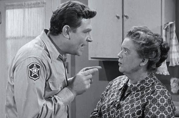 aunt bee takes a job