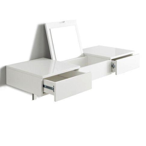 schminktisch zur wandmontage inkl spiegel. Black Bedroom Furniture Sets. Home Design Ideas