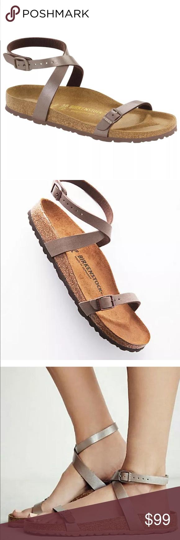 8c0ecdd7c61 New Birkenstock Daloa Hazel sandals Sz 9 Narrow A wraparound strap adds to  the feminine appeal