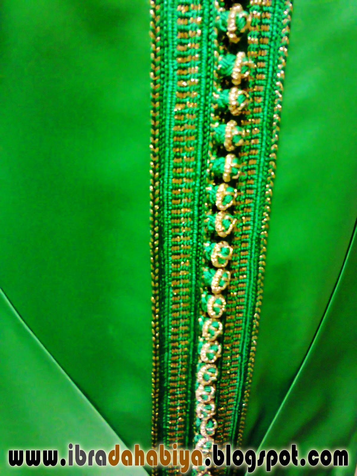 15 قفطان بالسفيفة و الثوب باللون الأخضر الملكي Caftan Moroccan Caftan Fashion