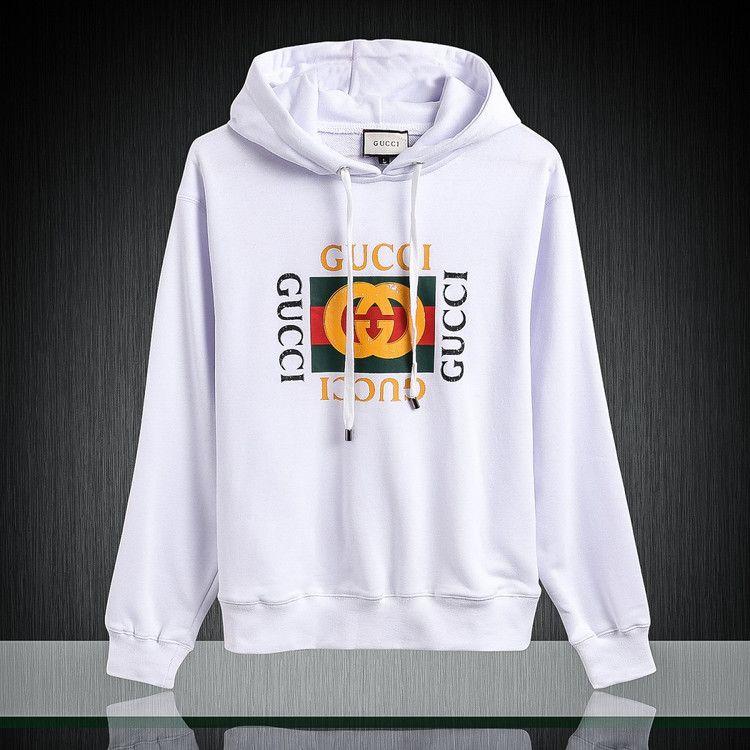617a007a3 Replica GUCCI Cotton sweatshirt with Gucci logo for men Size M-3XL ID:35150