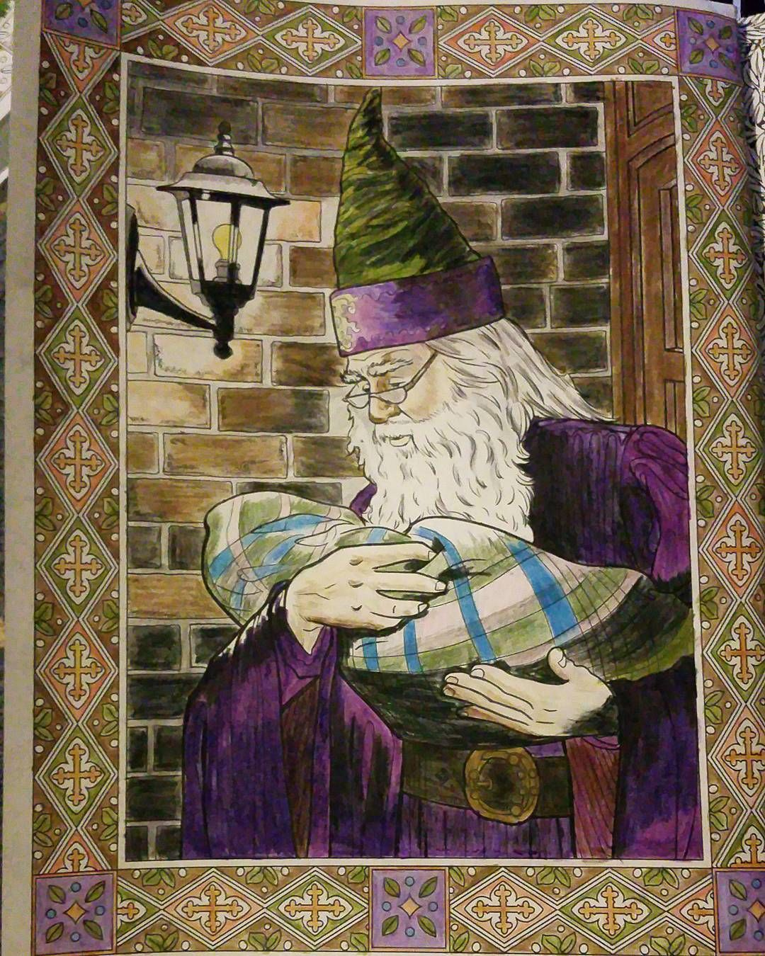 Colouring Coloring Books Adult Book Art Harry Potter Fan Mischief Managed Pencil Fandom