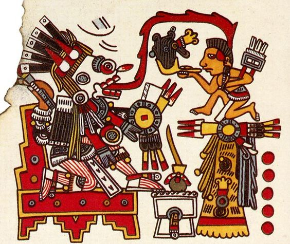 Codex Borgia Mayan Art Aztec Symbols Ancient Books