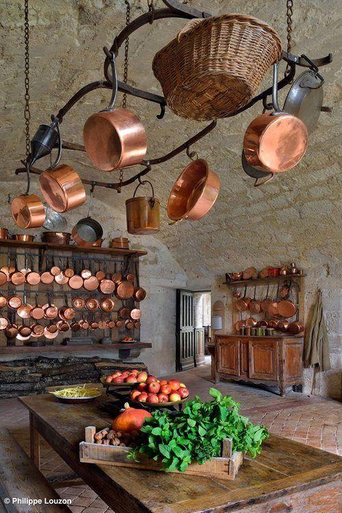 一用變大廚!最佳下廚煮器+惹眼美麗裝飾:經典紅銅鍋具