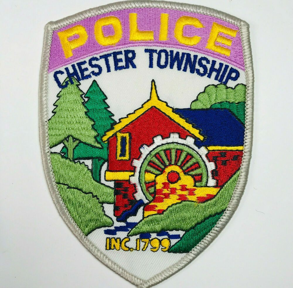Chester Township Police Morris County New Jersey Patch in