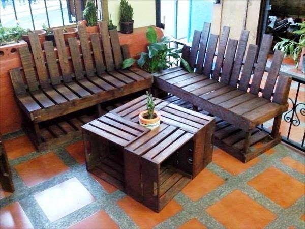 50 ideas de muebles para tu hogar hechas con pallet - Cosas hechas con palets ...