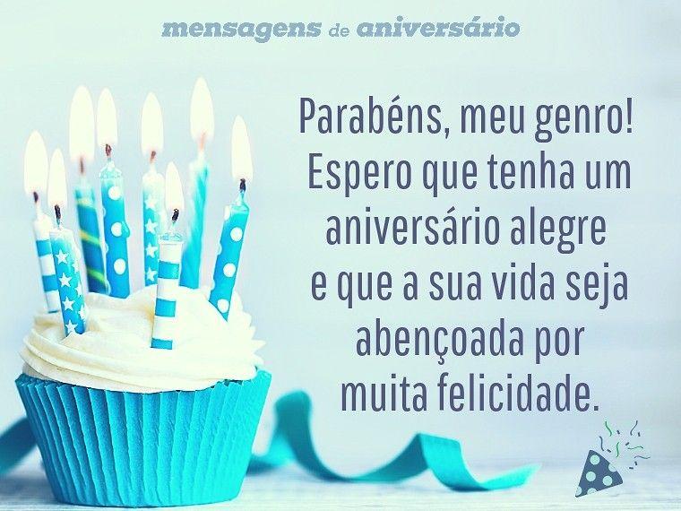 Tenha Um Aniversário Sogra Mensagem De Aniversário: Mensagem De Aniversário: Parabéns, Meu Genro! Espero Que