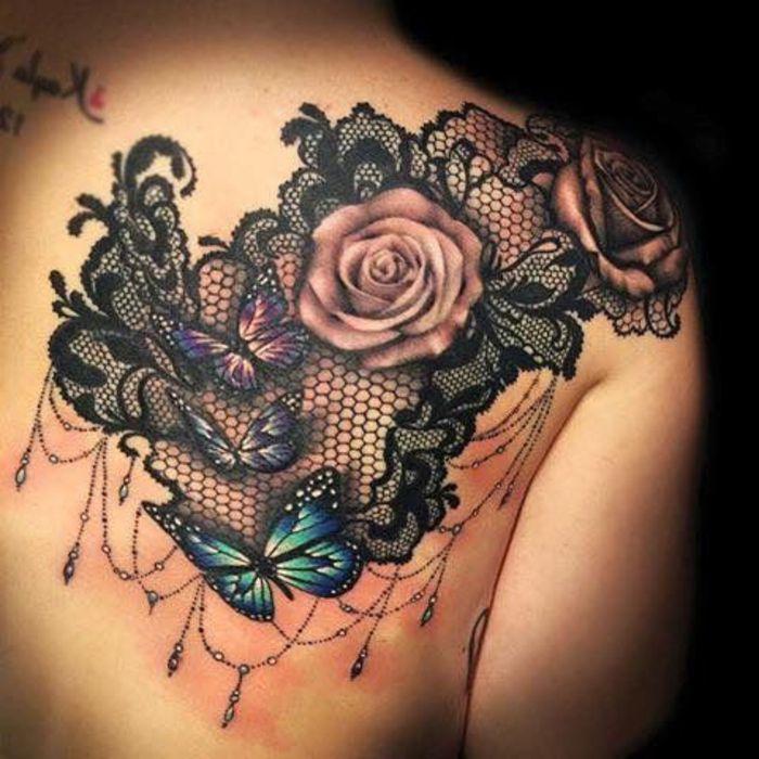 1001 Idees De Tatouage Dentelle Impressionnant Tattoo