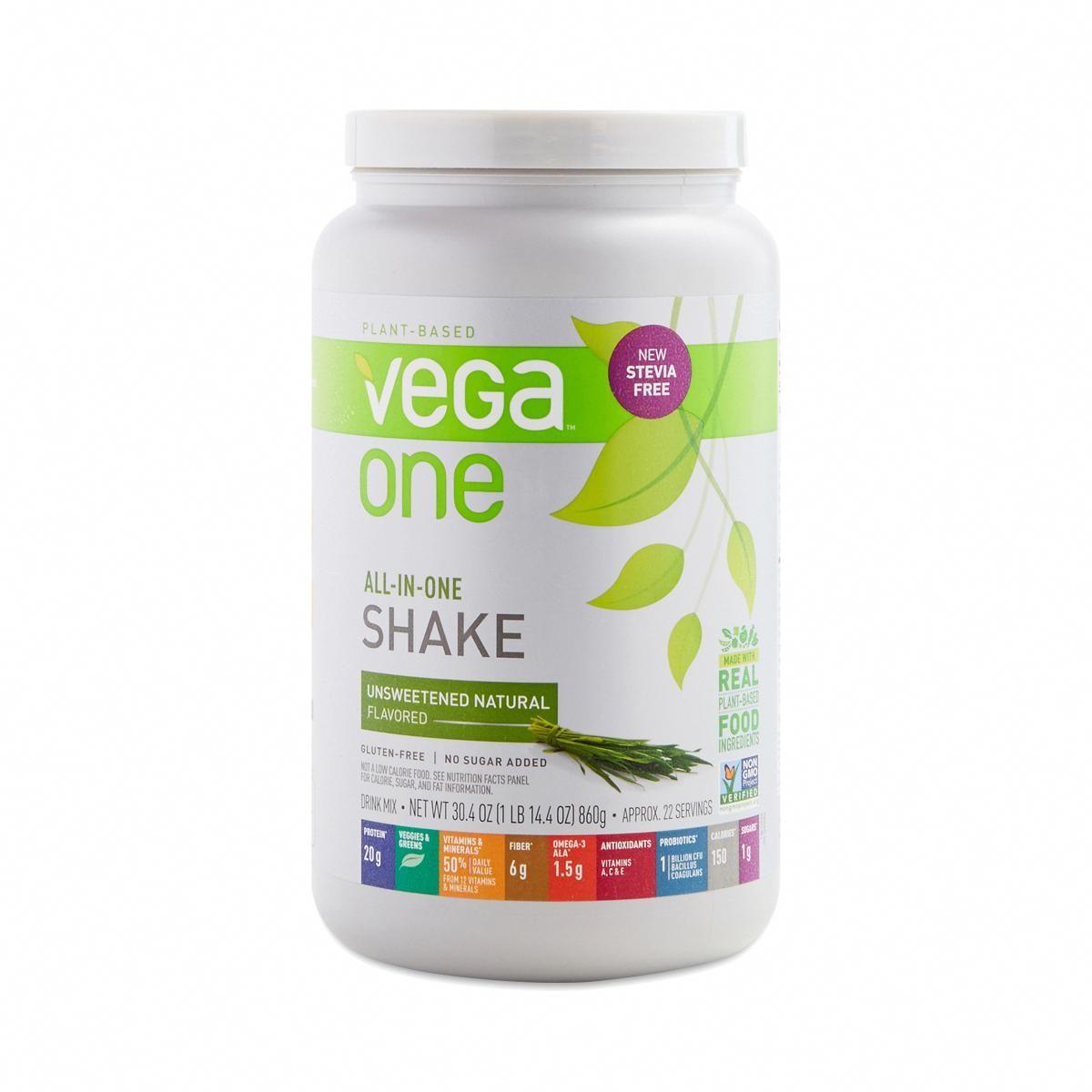 Shop Vega One AllInOne Protein Powder, Natural