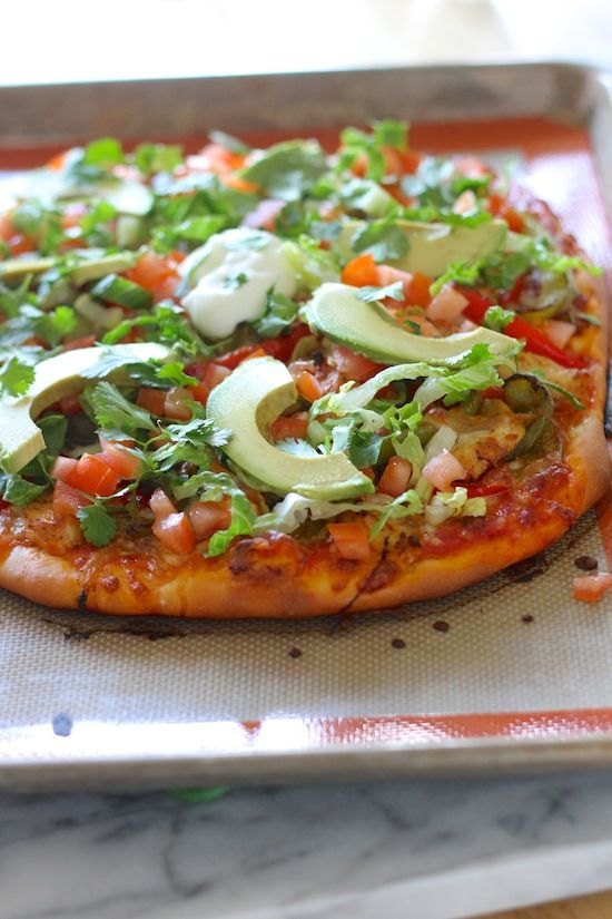 Loaded Fajita Pizza from www.laurenslatest.com