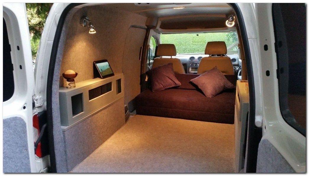60 Simple But Cozy Camper Van Interior Ideas Caddy Maxi Van