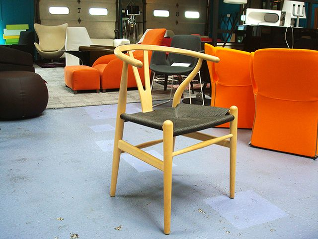 Chaise Wishbone Ch24 Carl Hansen Chaises Et Fauteuils Au Design
