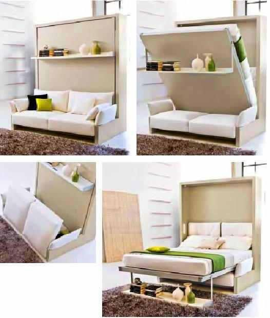 Space saving furniture beds pinterest best transforming furniture and space saving - Transforming furniture for small spaces image ...