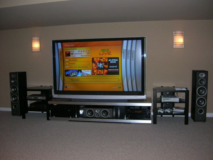 Build Your Own Custom Made Entertainment Center Mesmerizing Plasma In Home System Ideas For Playing Xbox360 And Watch Movies Cool