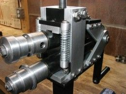 Bead Roller Homemade Bead Roller Build Documented In Great Detail Including Diagrams And A Complete Materials Metal Working Tools Metal Tools Metal Shaping