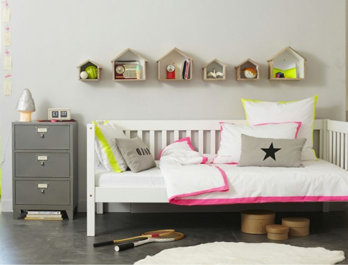 La chambre ado fille - 75 idées de décoration - Archzinefr Kids