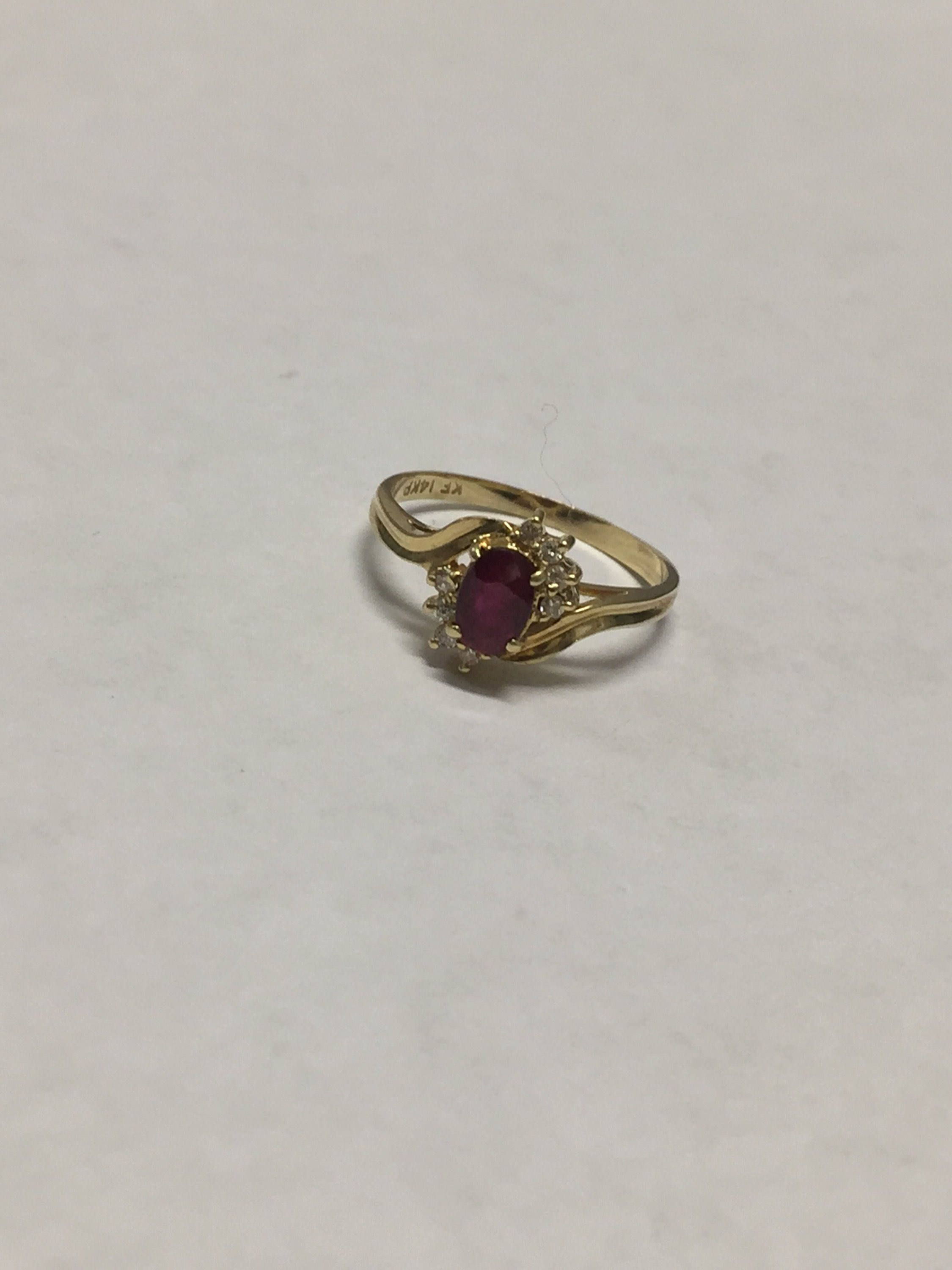 ring and products paste garnet gold trilogy georgian rose cut diamond