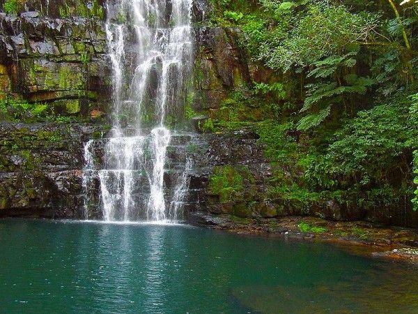 Paraguayan waterfall