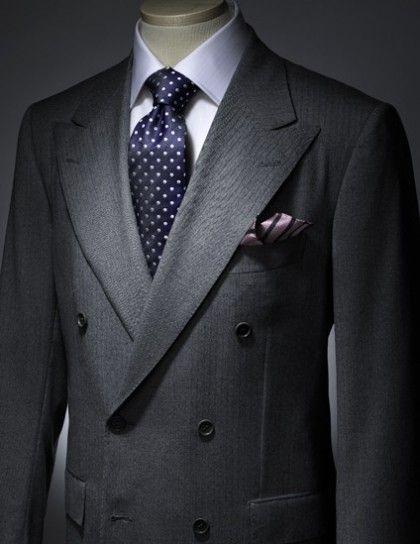 Abito da cerimonia per uomo doppiopetto Suit Combinations 9814c5c36f1