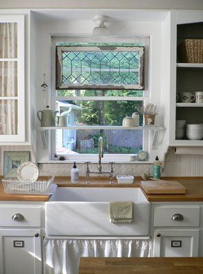 21 Kitchen Shelf Over Sink Ideas Kitchen Sink Window Home Kitchens Kitchen Window Shelves