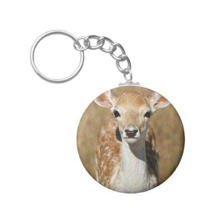 Deer Animal Doe Pet Keychain -nature diy customize sprecial design