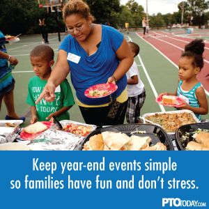 Create a year-end event for families that will become a beloved tradition.