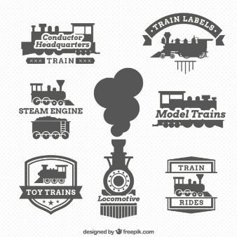 Locomotive labels