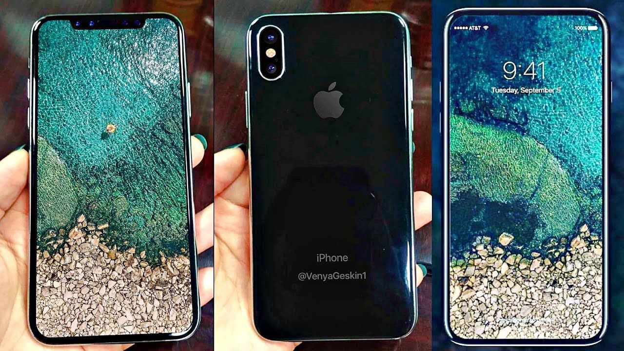IPhone 8 Prototye Show A Infinite Display No Home Button Dual Camera And More