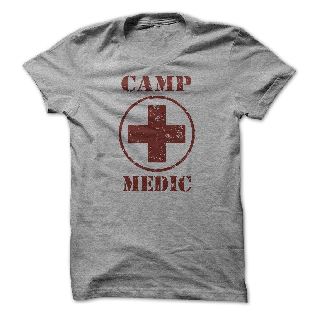 tshirts... Cool T-shirts Camp Medic at (Cua-Tshirts) Design ...