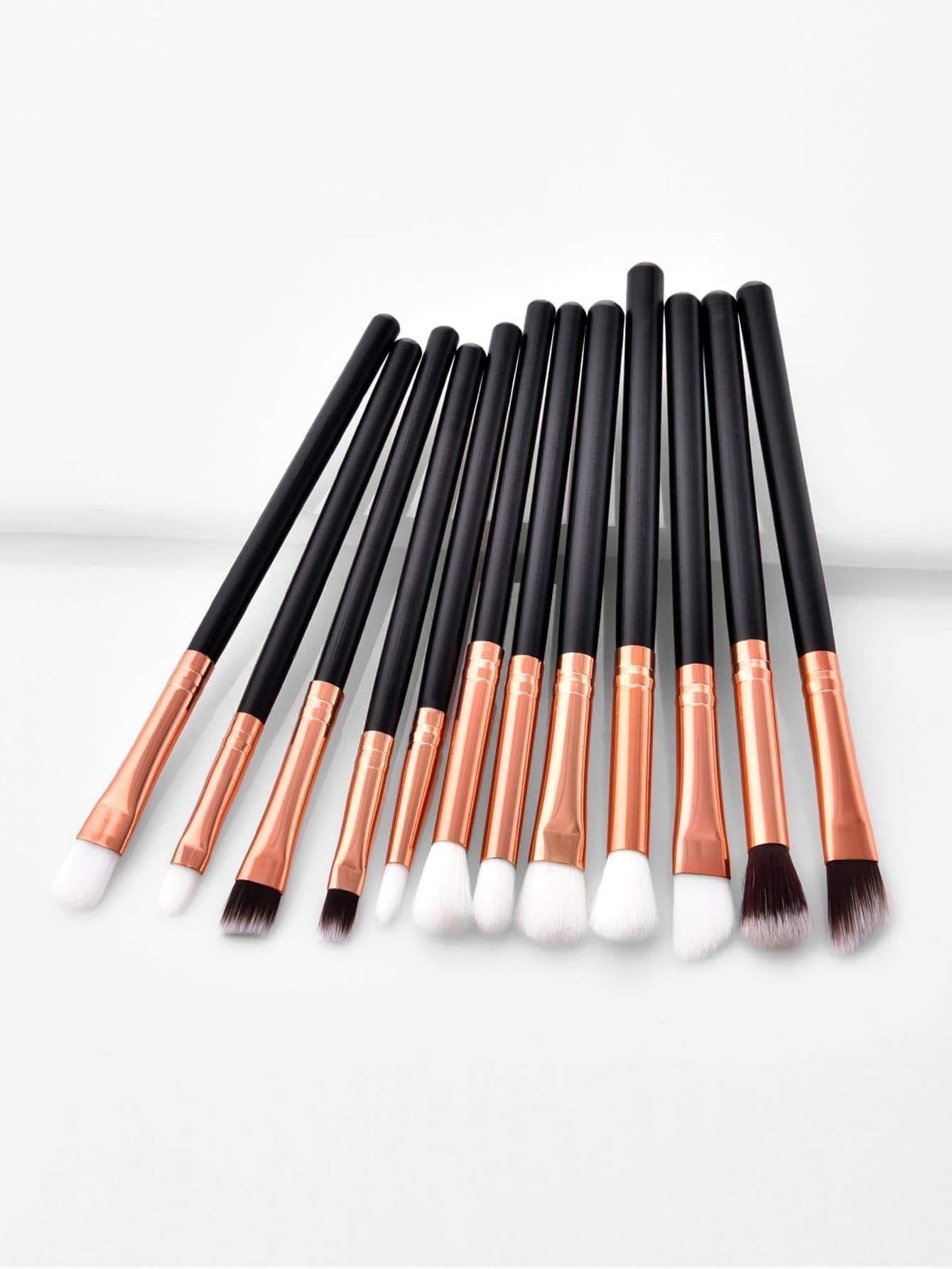 Soft Bristle Eye Brush 12Pcs Makeup Brushes Eye