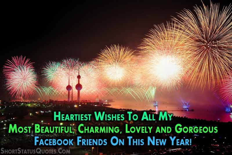 Happy-New-Year-Facebook-Status-for-2018 | Happy new year ...