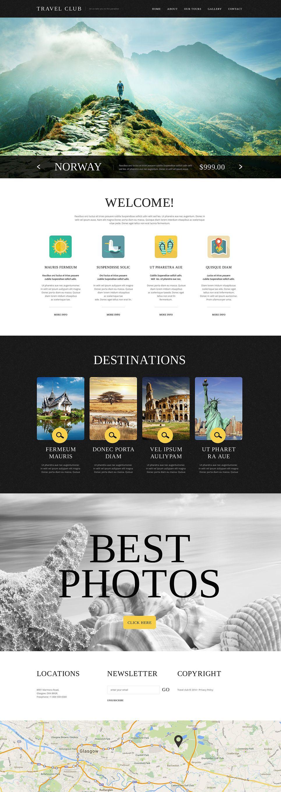 Travel Agency Website Template Agency Travel Template Travel Agency Website Website Template Travel Website Design