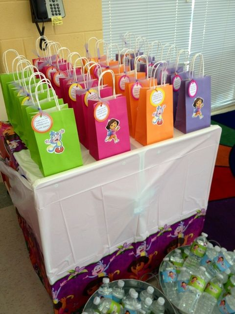 Dora The Explorer Pre Filled Gift Bag Birthday Favour Present. Filler Party