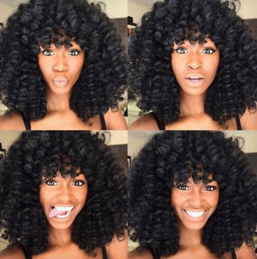 Crochet Braids 32 Pictures Of Hairstyles You Can Wear Natural Hair Styles Curly Crochet Hair Styles Crochet Braids Hairstyles